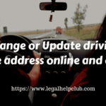 Change driving license address online and offline by Legal help Club