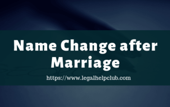 Name Change after Marriage